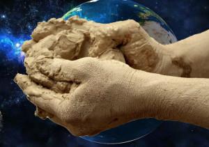 Творение человека из глины