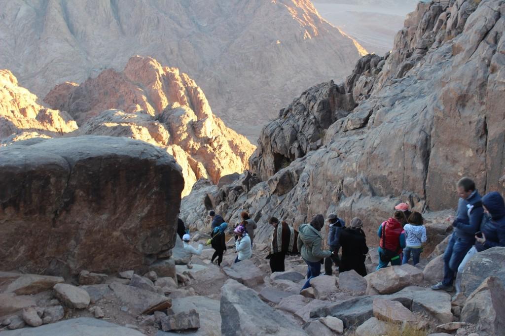 800 ступеней горы Моисея