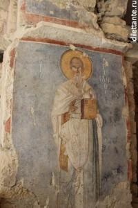 Фрески в храме Николая Чудотворца в Демре
