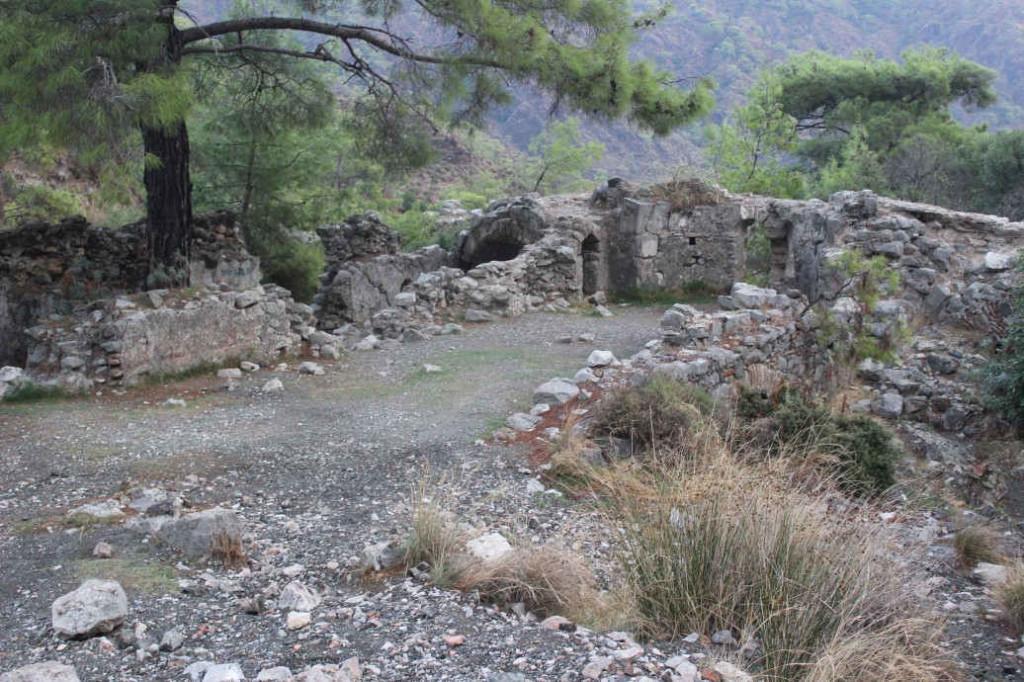 Храм Гефеста на горе Янарташ